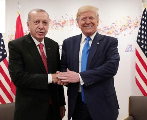 صمیمیت پشت پرده اردوغان و ترامپ؛ یک ملاقات در کاخ سفید برای حل کردن اختلافات