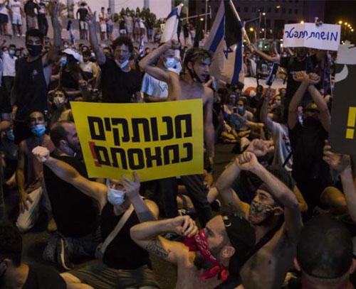 کاهش محبوبیت «بنیامین نتانیاهو» در سایه سوء مدیریت بحران کرونا