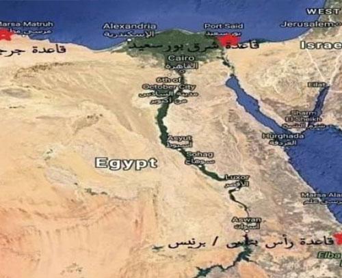 پایگاه های نظامی مصر؛ عامل نفوذ و قدرت نمایی در منطقه یا خدمت به منافع امارات؟