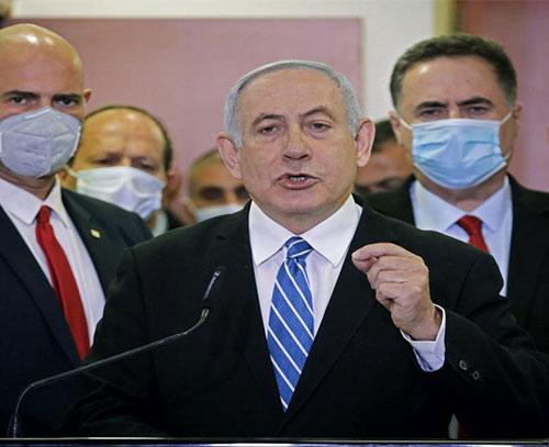 نتانیاهو خطاب به گانتس: در صورت مخالفت با طرح الحاق کرانه باختری، انتخابات جدید برگزار میکنم