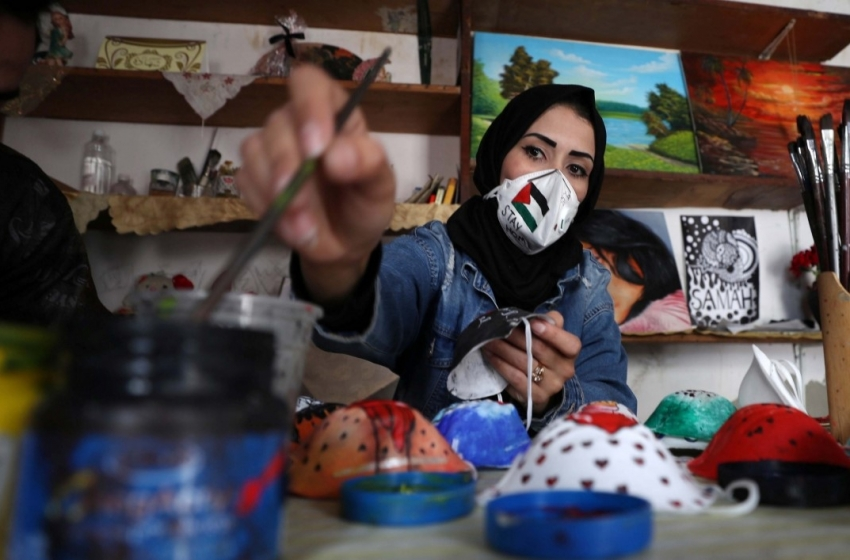 بهبود نسبی آمار مبتلایان به کرونا در کرانه باختری و نوار غزه