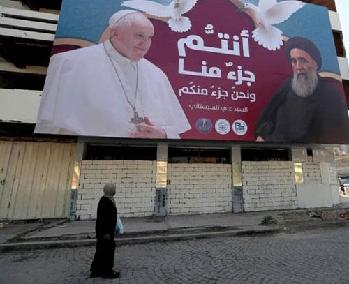 اهمیت دیدار تاریخی پاپ با آیت الله سیستانی