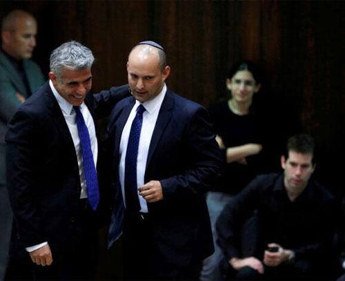 «نتانیاهو» خشمگین از توافق «بنت» و «لاپید»