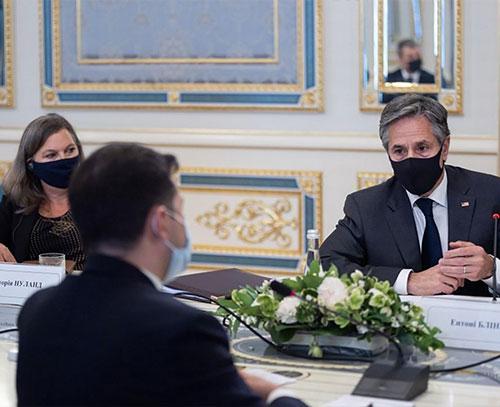 آنتونی بلینکن: آمریکا به تجاوزگری روسیه پاسخ خواهد داد