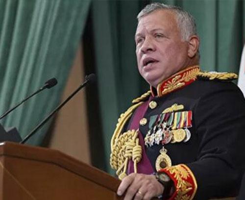 پادشاه اردن از توطئه در کشور خبر داد