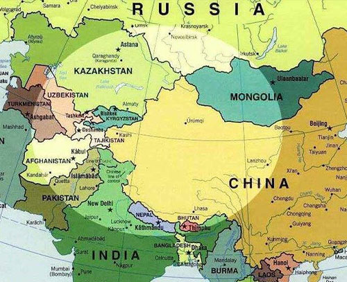 چشم انداز حضور ایالات متحده امریکا در منطقه آسیای مرکزی