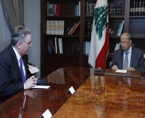 عون: لبنان خواستار ادامه مذاکرات درباره ترسیم مرزها با اسرائیل است