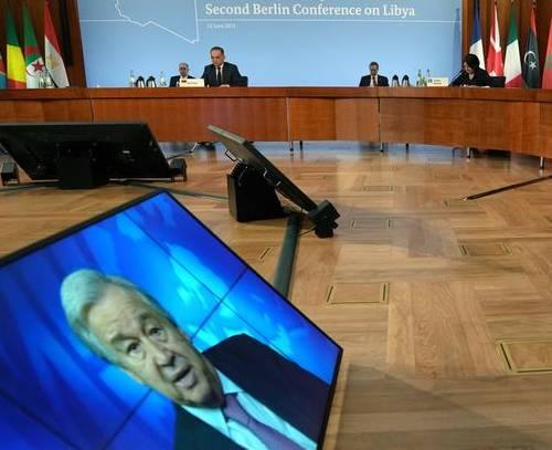پایان کنفرانس لیبی در برلین؛ توافق بر سر خروج نیروهای خارجی