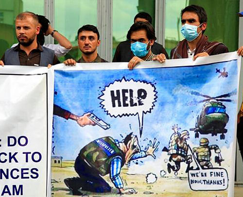 آمریکا از اواخر ژوئیه خارج کردن افغانهایی را که به ارتش آمریکا کمک کردهاند آغاز میکند