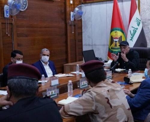نشست فوق العاده امنیتی به ریاست الکاظمی در پی انفجار تروریستی شهرک صدر بغداد