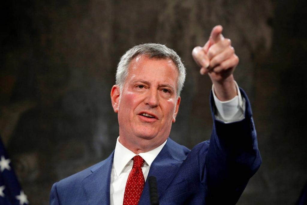 بیل دی بلازیو به زودی با کرسی شهرداری نیویورک خداحافظی خواهد کرد