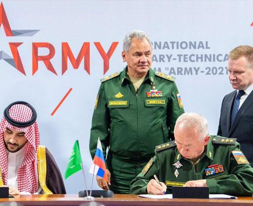 عربستان سعودی از توافق همکاری نظامی با روسیه خبر داد