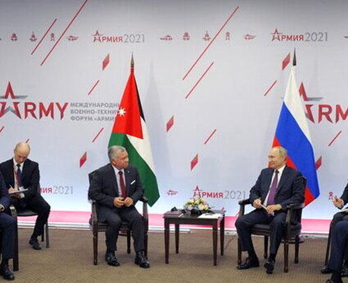 رایزنی مقامات روسی و اردنی درباره سوریه