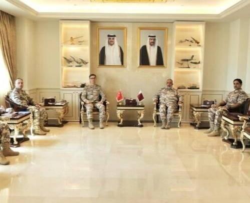 رایزنی قطر و ترکیه درباره تقویت روابط نظامی