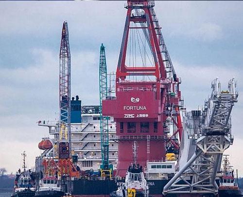 پروژه خط انتقال گاز روسیه به آلمان پس از سالها تنش و اختلاف به پایان رسید