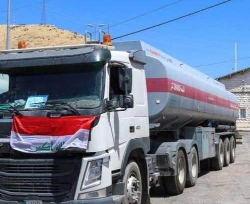 ورود نخستین محموله نفت سیاه عراق به بیروت