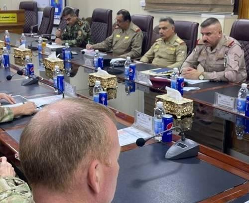 توافق عراق و امریکا درباره کاهش نیروهای رزمی امریکایی در پایگاه های عین الاسد و اربیل