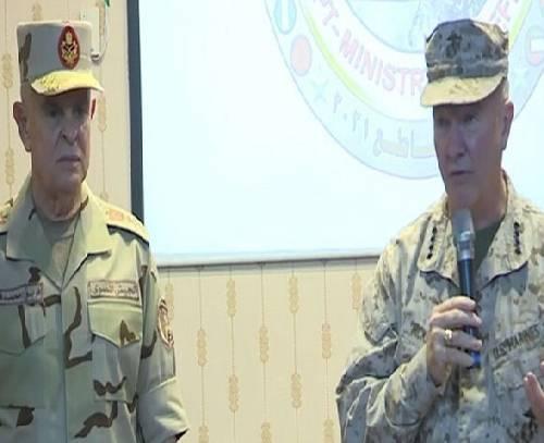 رایزنی رئیس ستاد نیروهای مسلح مصر با «مکنزی» درباره رزمایش «النجم الساطع»