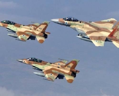 اسرائیل مدعی شلیک «موشک ایرانی» به سمت جنگنده های خود در آسمان سوریه شد