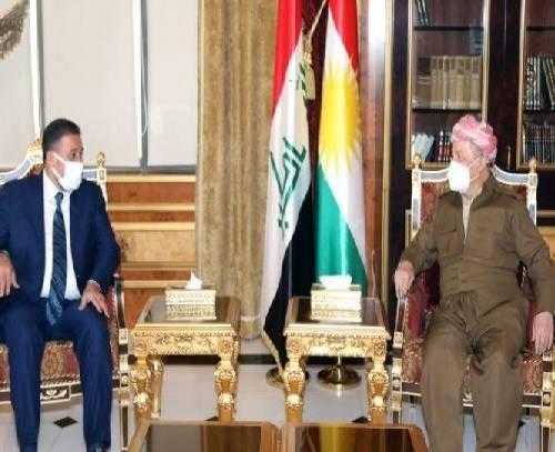 رایزنی بارزانی و الخنجر درباره مرحله بعد از انتخابات پارلمانی عراق